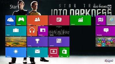 Star Trek 2 Into Darkness 2013 Windows 7 Or 8 Theme