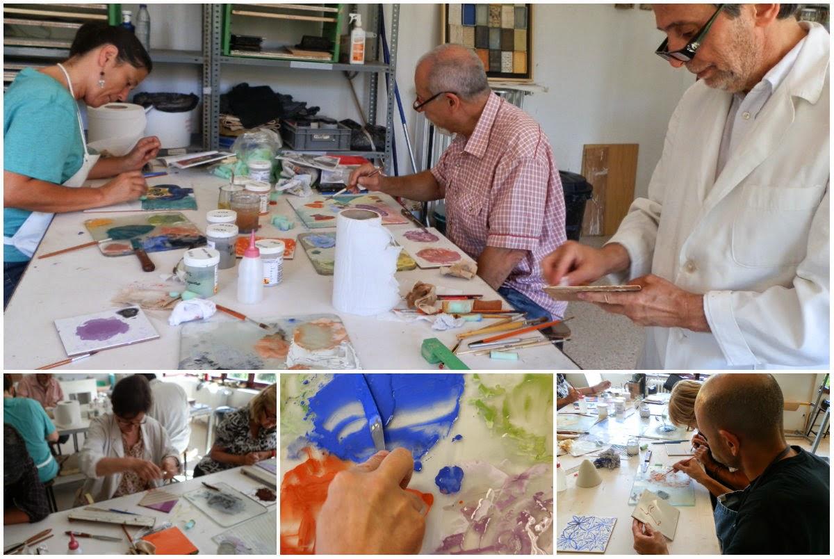 Escuela de cer mica de la moncloa madrid cursos de for Curso ceramica madrid