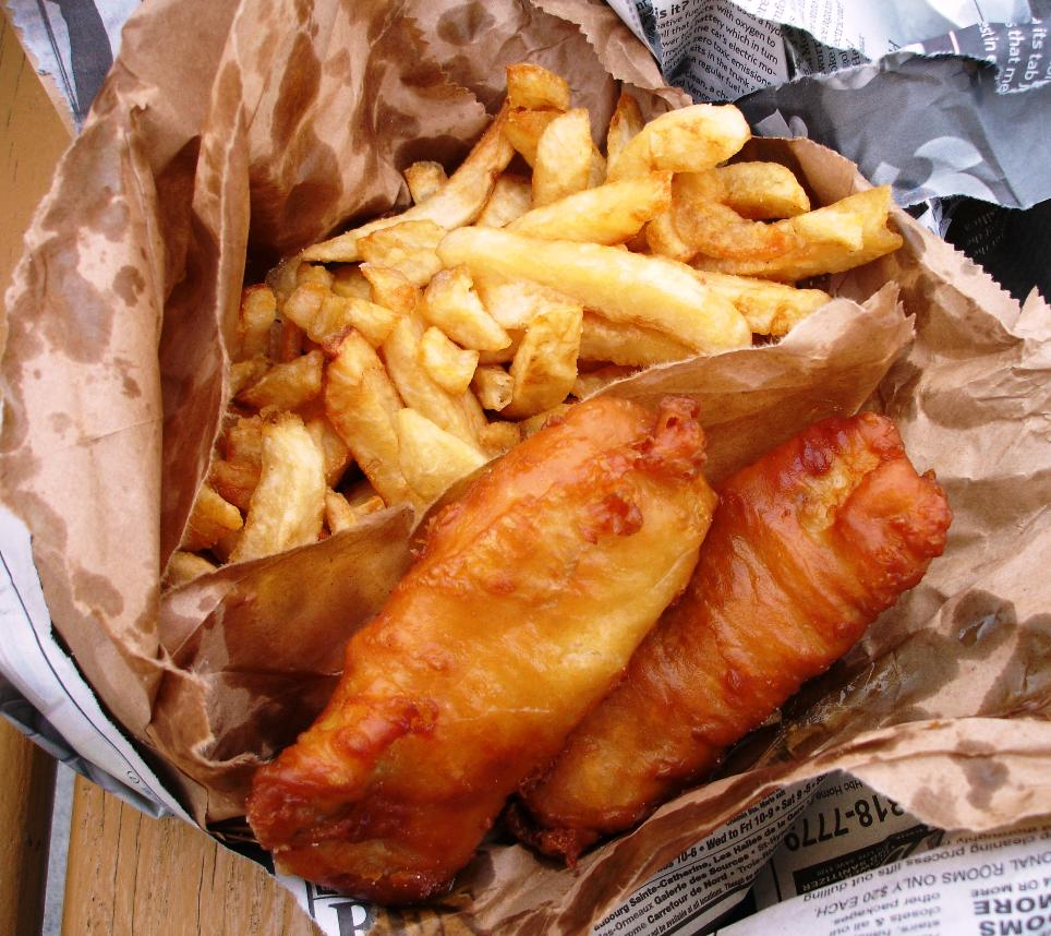 Aan jeanne s keukentafel fish chips for 99 5 the fish