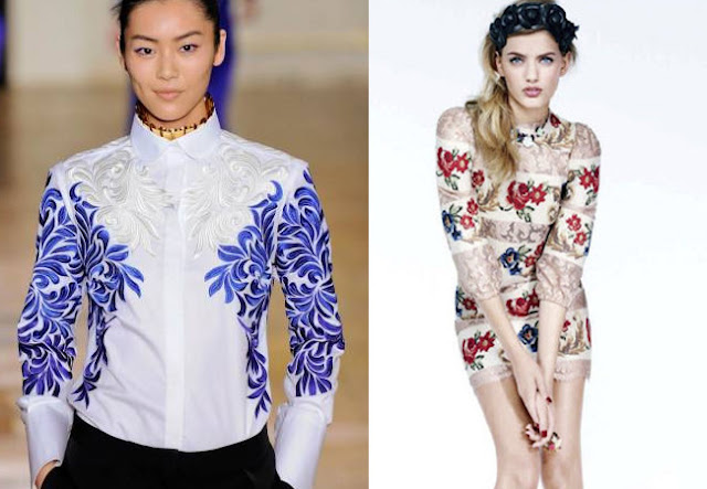 stella mccartney, dolce&gabbana, fall 2012, fall 2012 trends, embroidery