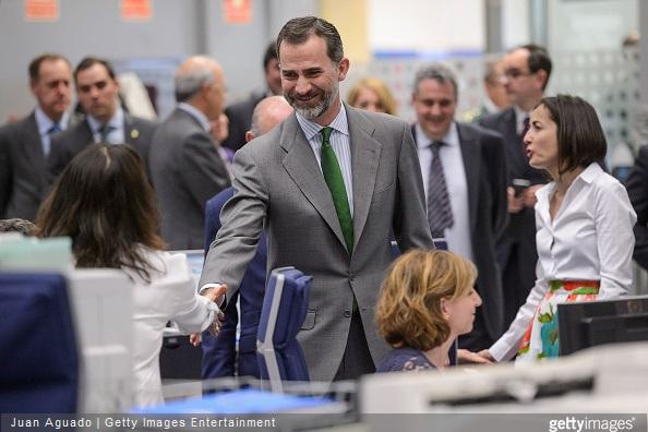 King Felipe VI of Spain visits the Directorate General of Traffic