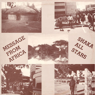 Cover Album of Jah Shaka - Message From Africa