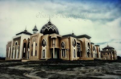Foto Masjid Raya Tarakan - Borneo Indonesia