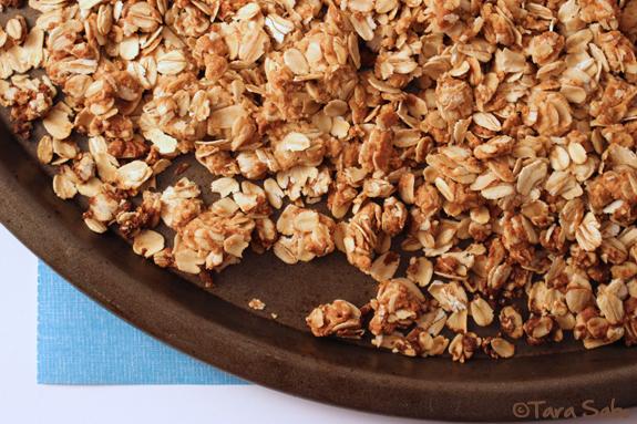 Peanut Butter, Granola, Oats