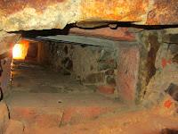 Túnel excavado pro los prisioneros
