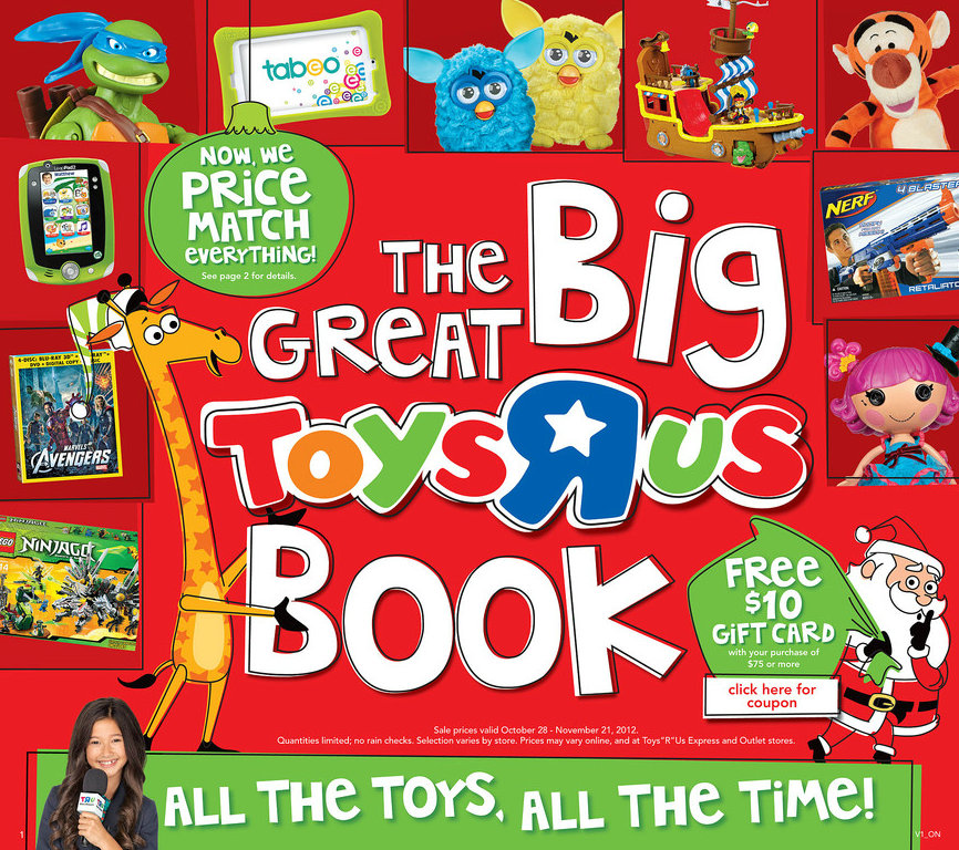 Toys R Us Big Book : Barbara s beat see the toys quot r us toy book get a gc
