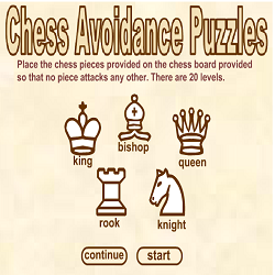 Chess Avoidance Puzzles Game