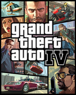 Grand Theft Auto iv permainan Poster | GTA 4 Game Penutup