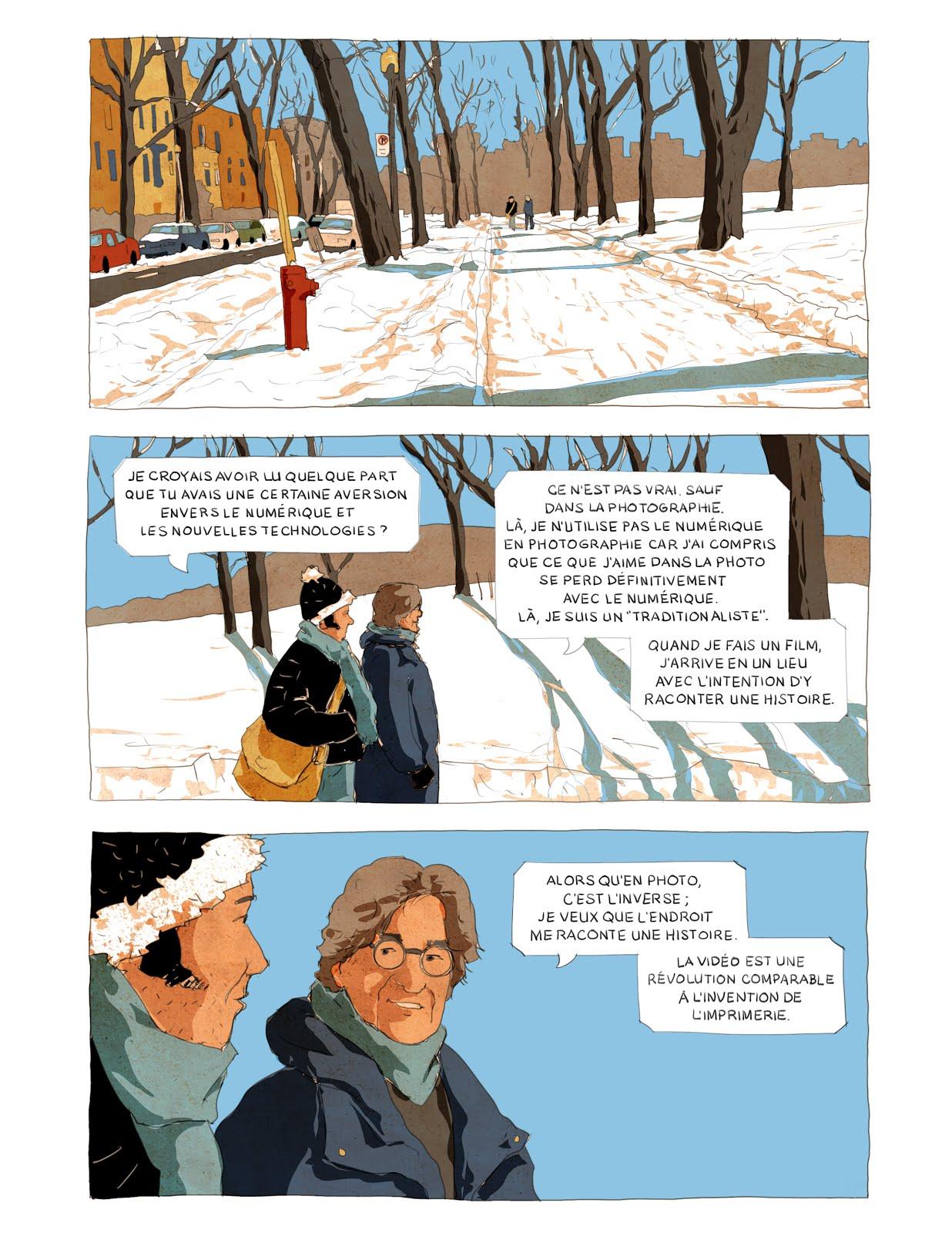 """""""Le storyboard de Wim Wenders"""" (extrait)"""