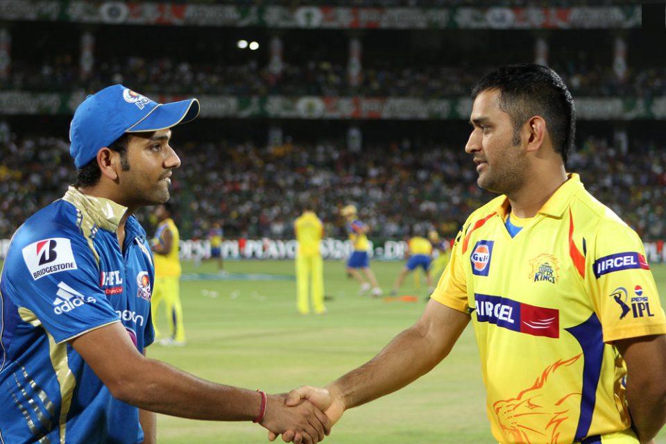 Rohit-Sharma-MS-Dhoni-CSK-vs-MI-qualifier-1-IPL-2013