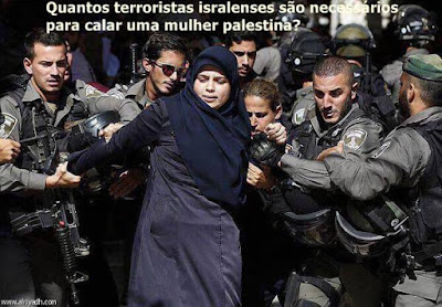 Terrorismo israelense ataca palestinos