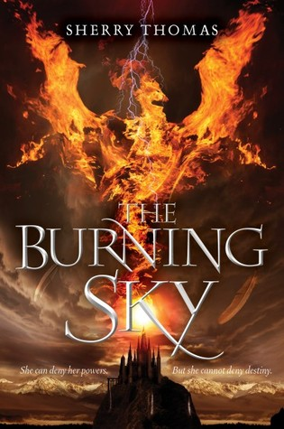 The Burning Sky book cover