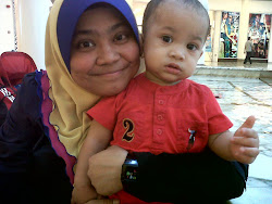 with my little cute boy