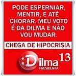 Eu voto 13
