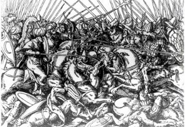 Albanci u borbi sa Turcima