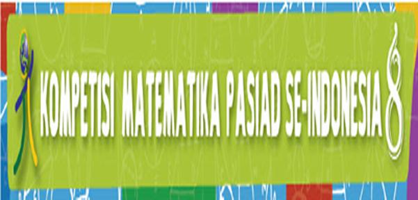 Pengumuman Hasil Penyisihan Olimpiade Kompetisi Matematika Pasiad 8 Obeig Mathematic And