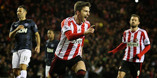 Video Gol Sunderland vs Manchester United 8 Januari 2013