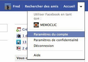 Comment utiliser Facebook en tant que page fan ?