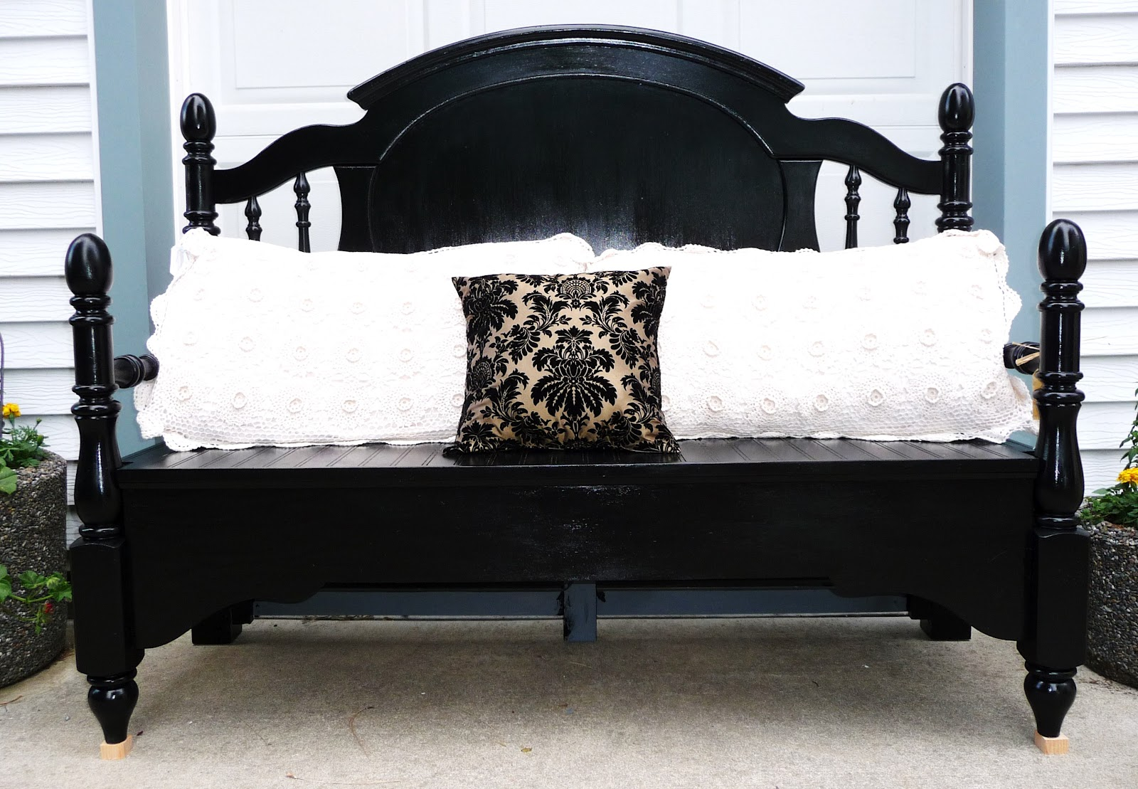 28 black bed bench homelegance allura bed bench