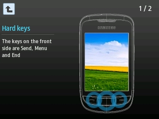 Tricks for Samsung - How to Enable and Use Corby 2 Menus While on CALL STEP 4
