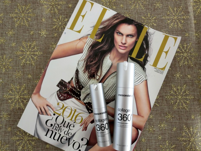 Elle Magazine suscription + mesoestetic collagen 360º