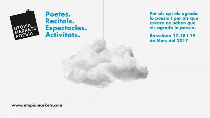 Eva Hibernia directora de @coachingescritores en Utopía Markets de Poesía