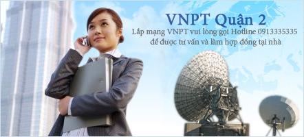 Khuyến mãi Lắp đặt internet cáp quang VNPT quận 2 TPHCM