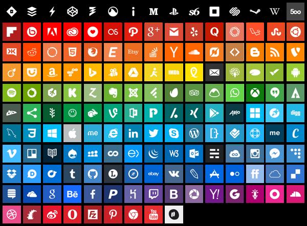 flatoids free icons