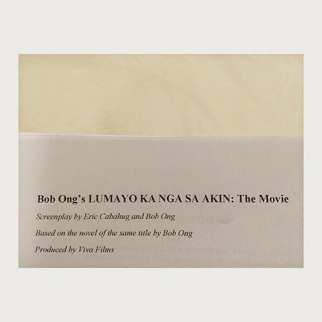 Anne Curtis' script for Lumayo Ka Nga Sa Akin