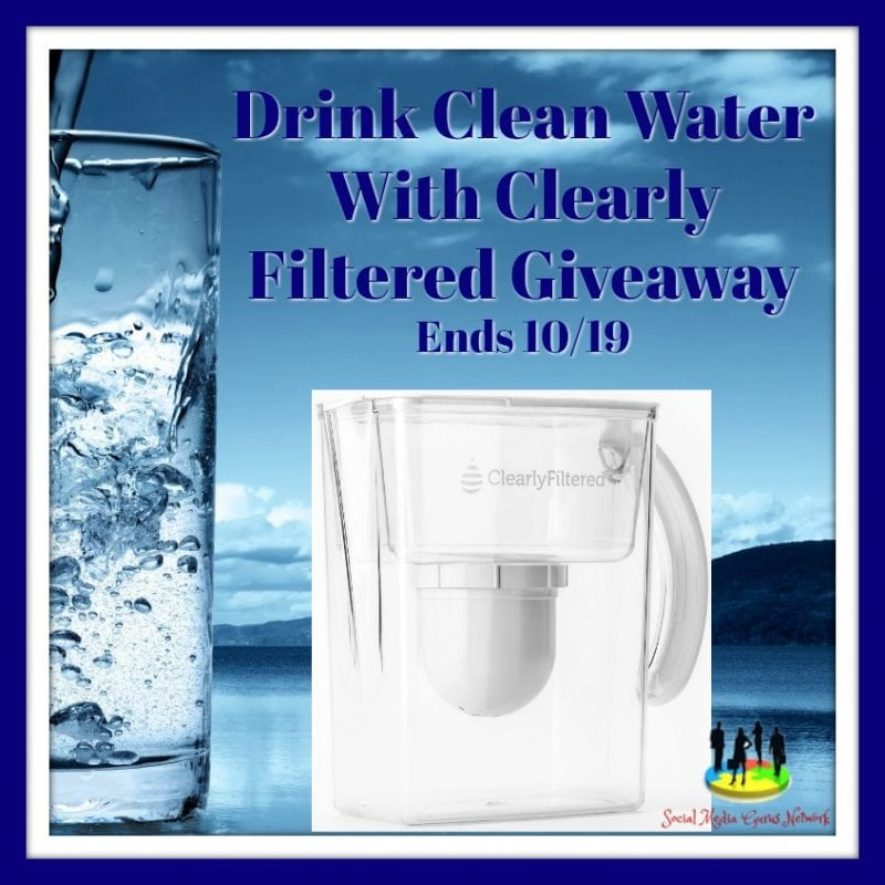 Clearly Filtered Giveaway