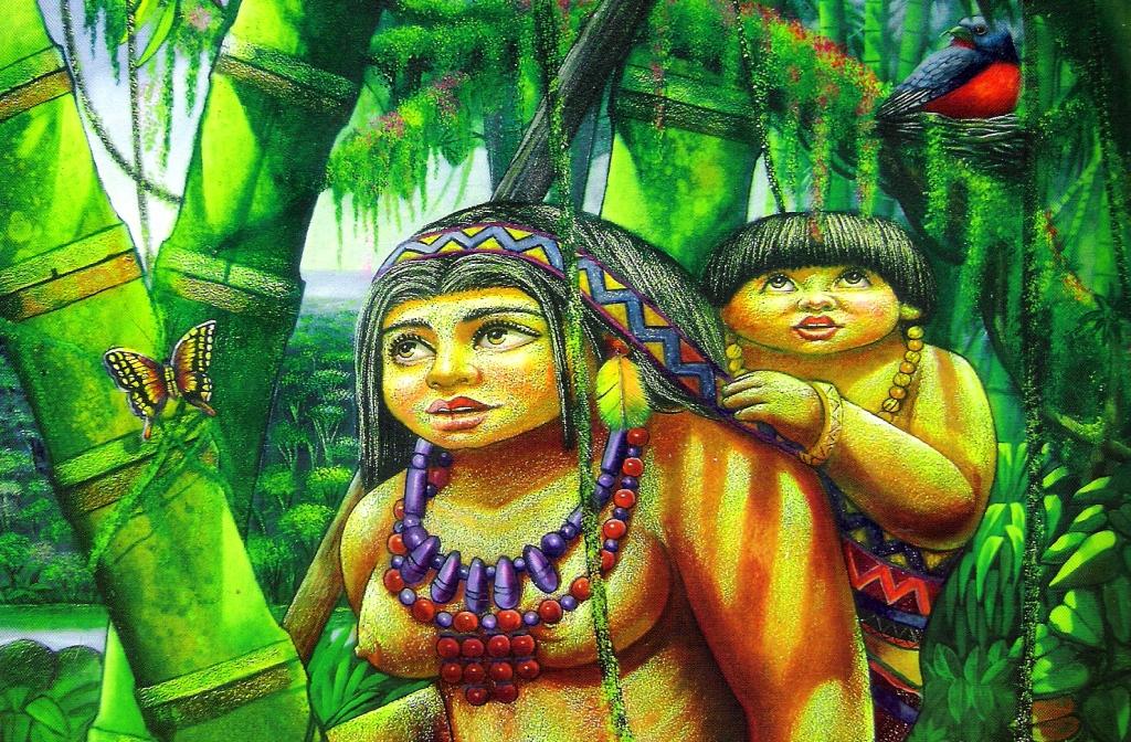 Paisaje indigenas
