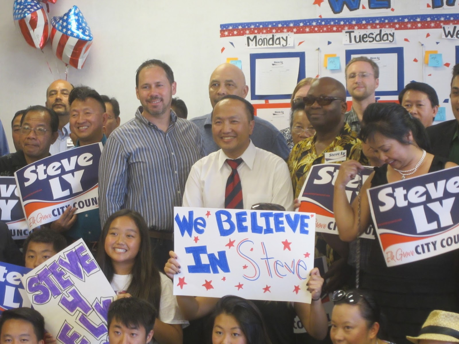Ly Opens Campaign Office For Elk Grove City Council District 4 Race