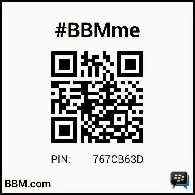 NEW PIN BB = 767CB63D