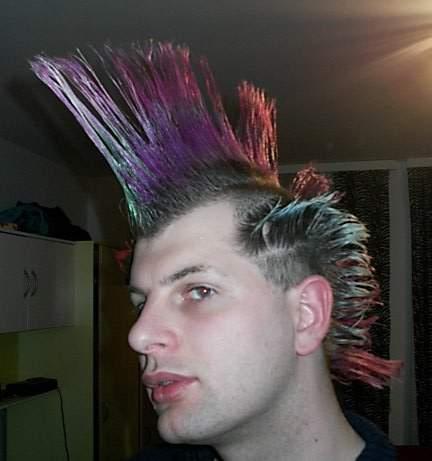 Boys Punk Hair Style