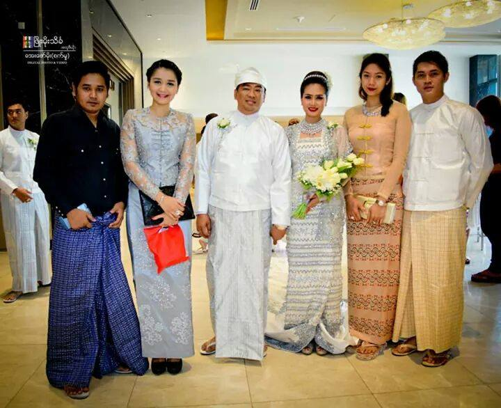 Oakar Kyaw and Su Pan Htwar Wedding Photos