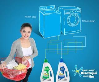 Menghemat Watt Mesin Cuci