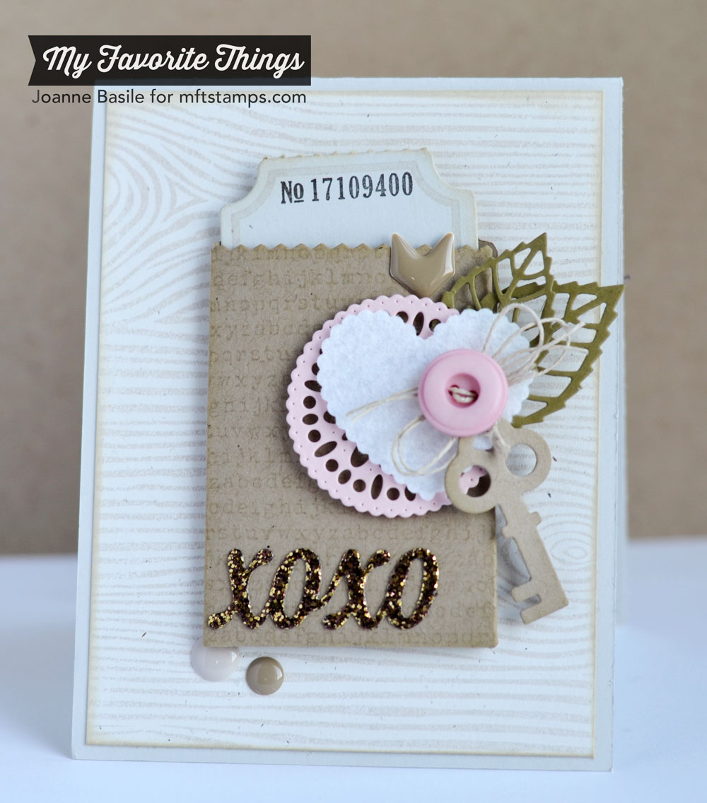 Delicate Doily Valentine from MFT
