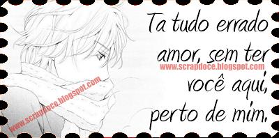 Recadinho de Amor/Saudade para Facebook e Orkut