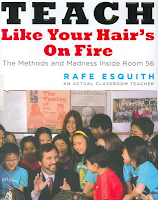 Book Cover of teach Like Your Hair's On Fire