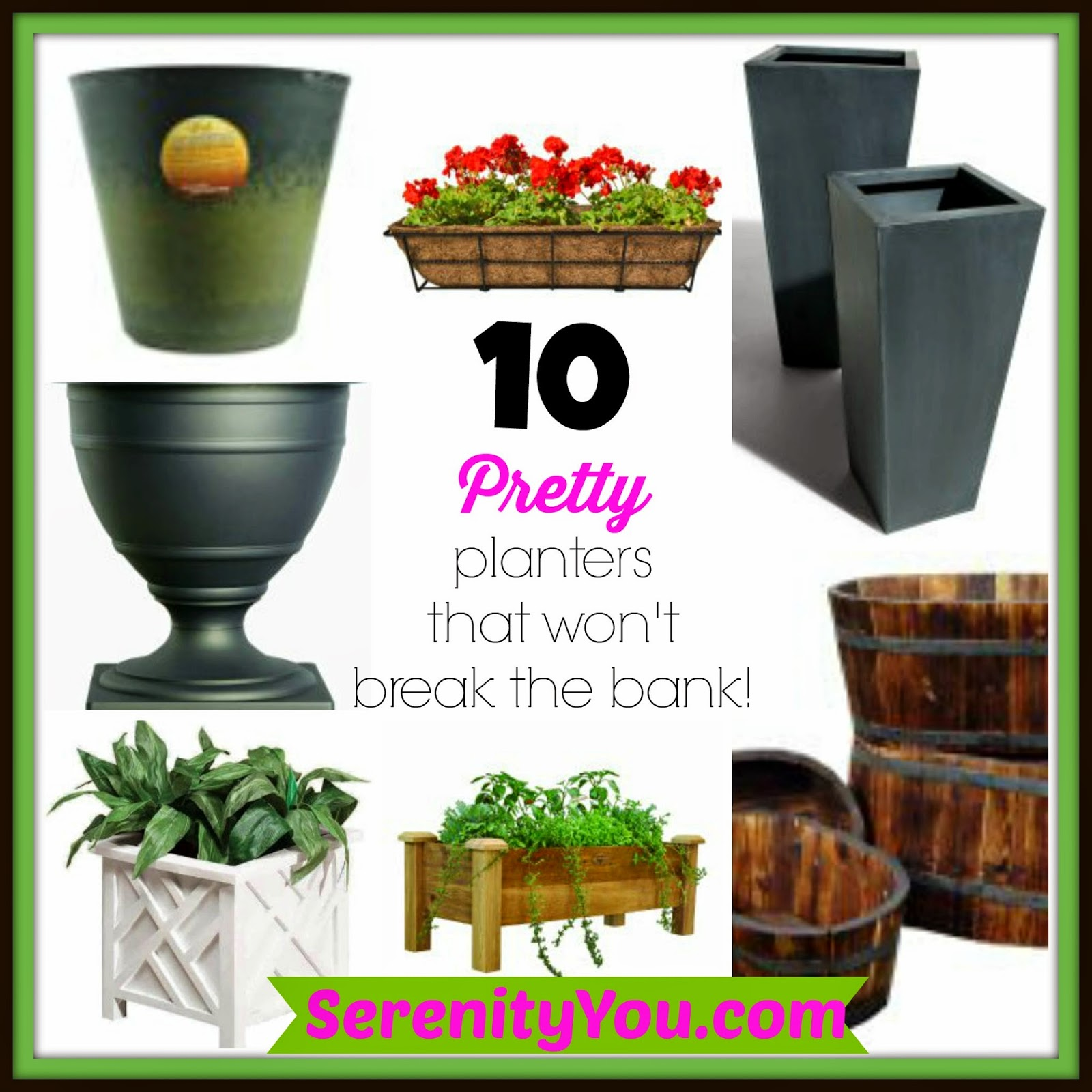 10 pretty planters that won't break the bank