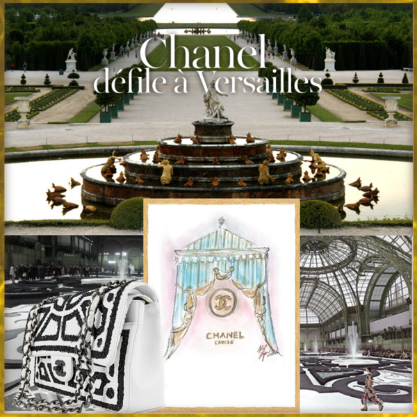 A library of design gardens fashion interiors glamour for Garden design versailles