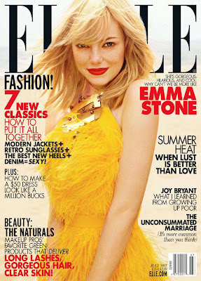 Emma Stone Elle Magazine Wallpapers