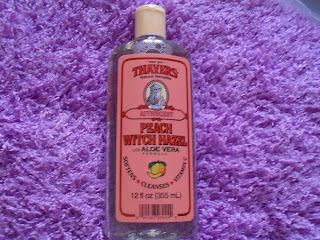 Thayers, Peach Witch Hazel with Aloe Vera Formula