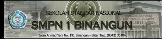 SMPN 1 BINANGUN BLITAR