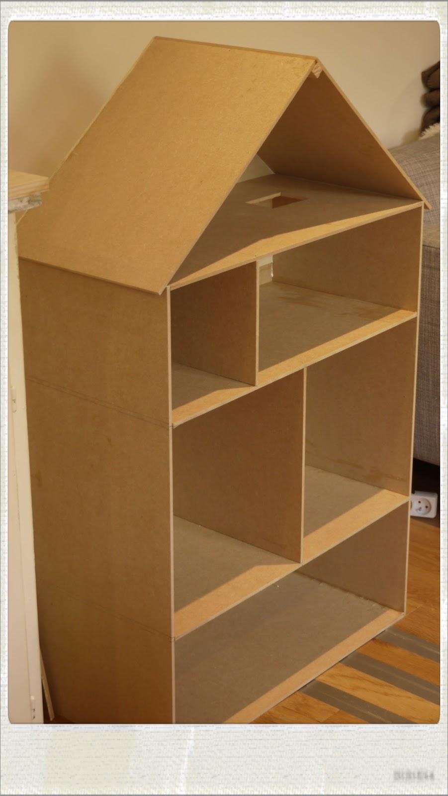 Maison de poup e diy tape 2 - Comment construire maison en bois ...
