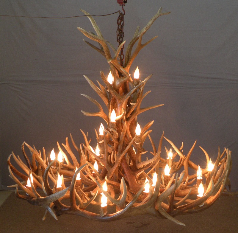 http://www.peakantlers.com/products-page/elk-antler-chandeliers/mt-elbert-small-elk-mule-deer-antler-chandelier/