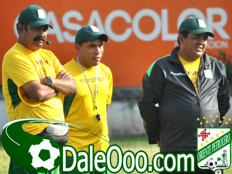 Oriente Petrolero - Roberto Ariñez - Jaime Jemio - DaleOoo.com sitio del Club Oriente Petrolero