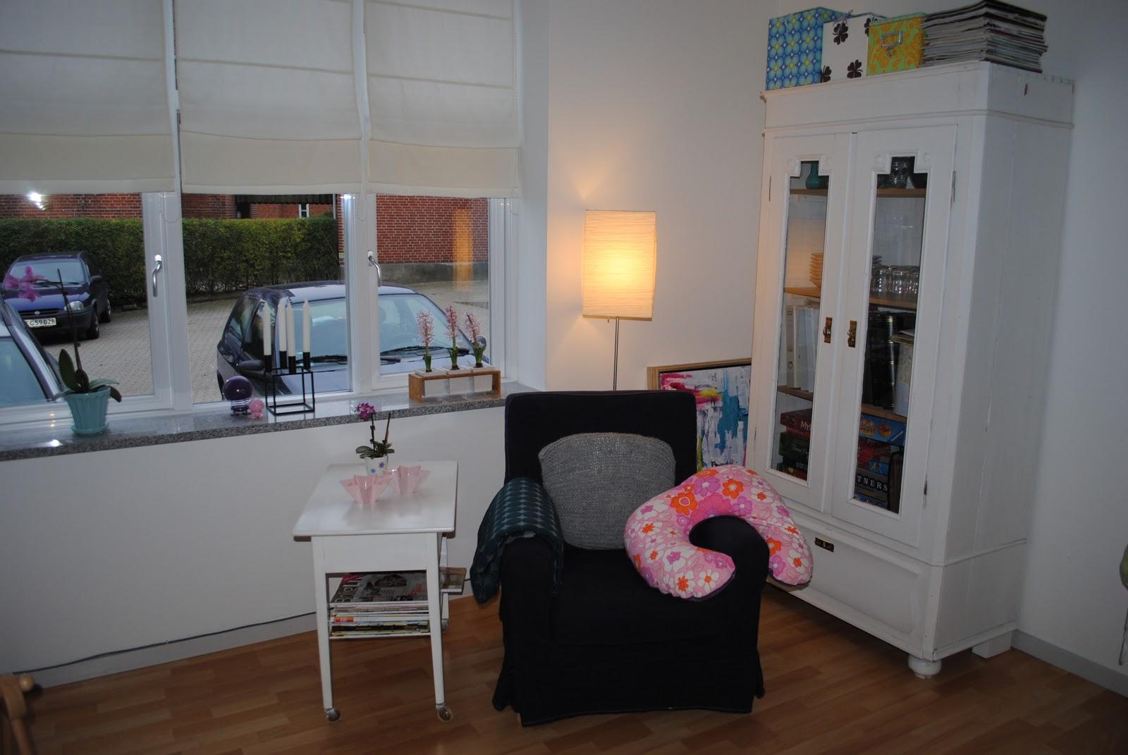 Julies kreahule: ny indretning
