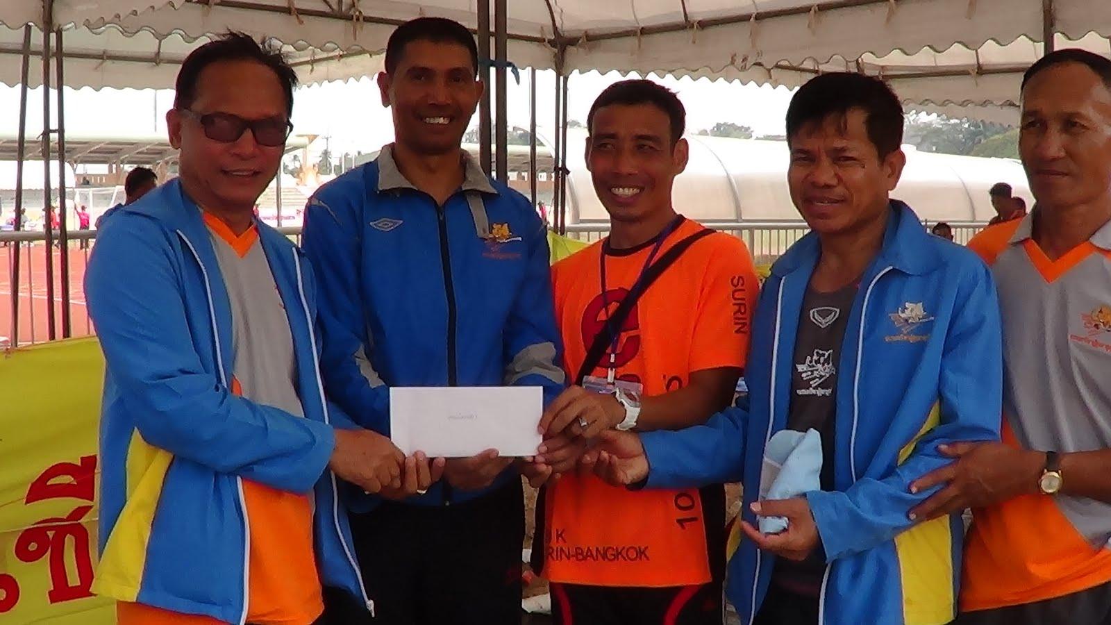 ชมรมกรีฑาผู้สูงอายุจังหวัดสุรินทร์เข้าร่วมการแข่งขันกรีฑาสูงอายุชิงชนะเลิศแห่งประเทศไทย สกลนคร