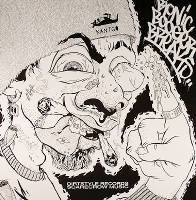 Darth Fader & Scarecrow Willy ‎– Bionic Booger Breaks (Vinyl) (1993) (320 kbps)